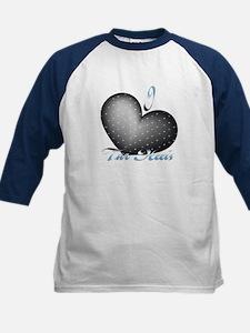 I Heart Tar Heels Kids Baseball Jersey