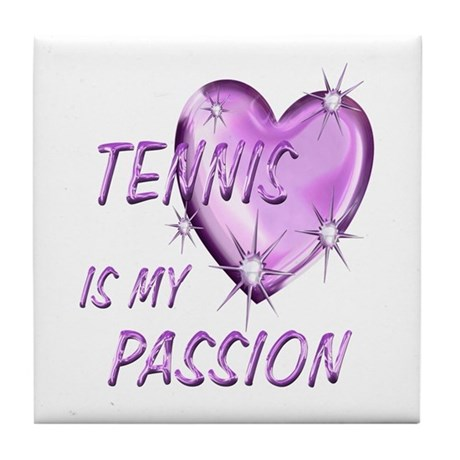 Tennis Passion Tile Coaster
