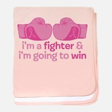 I'm A Fighter baby blanket