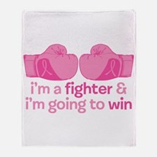 I'm A Fighter Throw Blanket