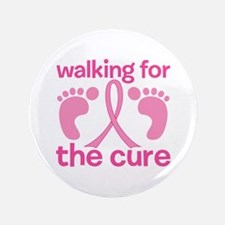 "Walking 3.5"" Button (100 pack)"