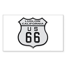 Ludlow Route 66 Decal