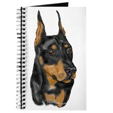 Doberman Portrait Journal