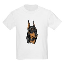 Doberman Portrait Kids T-Shirt