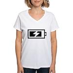Recharge Women's V-Neck T-Shirt
