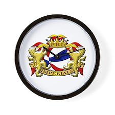 Unique Imperial logo Wall Clock