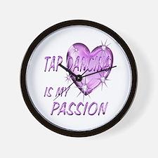 Tap Dancing Passion Wall Clock