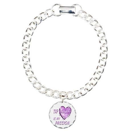 Tap Dancing Passion Charm Bracelet, One Charm