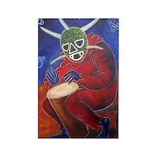 Vegigante Conguero Rectangle Magnet (100 pack)