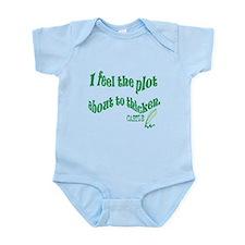 Rick Castle - Plot Thickens Quote Infant Bodysuit