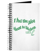 Rick Castle - Plot Thickens Quote Journal