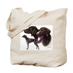 German Pointer Tote Bag