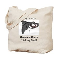 Cool Osama dead Tote Bag