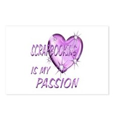 Scrapbooking Passion Postcards (Package of 8)