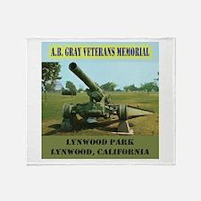 Lynwood War Memorial Throw Blanket