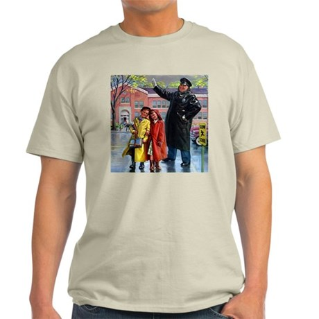 Crossing Guard Ash Grey T-Shirt