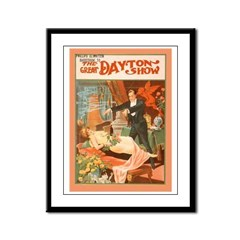 Framed Vintage Magic Act Panel Print