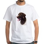 German Pointer White T-Shirt