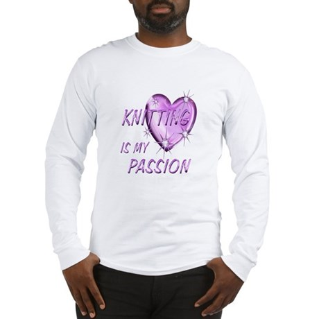 Knitting Passion Long Sleeve T-Shirt