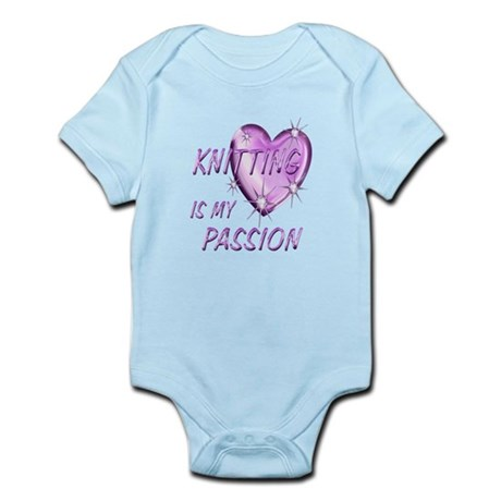 Knitting Passion Infant Bodysuit