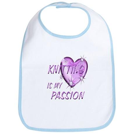 Knitting Passion Bib