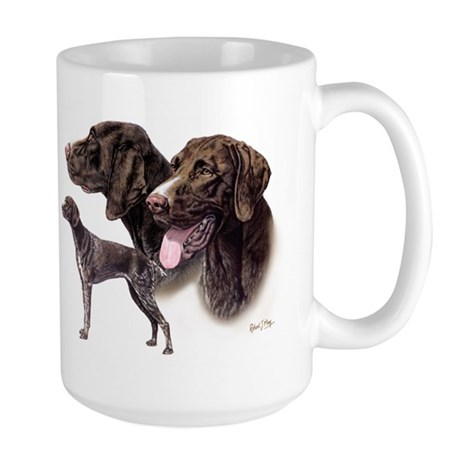 German Pointer Large Mug