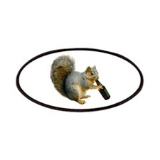Squirrel Beer Patches