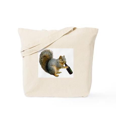 Squirrel Beer Tote Bag