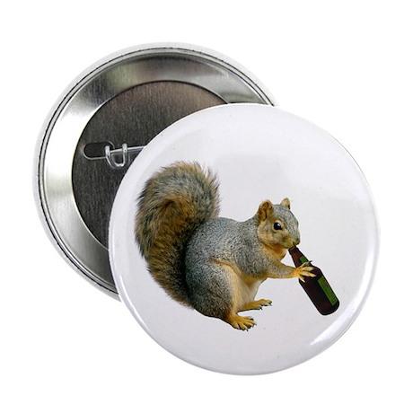 "Squirrel Beer 2.25"" Button"