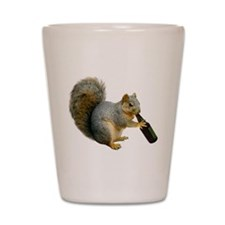 Squirrel Beer Shot Glass