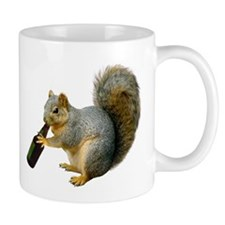 Squirrel Beer Mug
