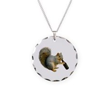 Squirrel Beer Necklace