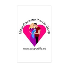 SupportLife.US Rectangle Decal