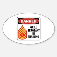 Grill Sgt. Decal