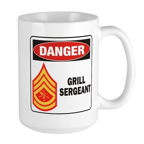 Grill Sgt. Large Mug