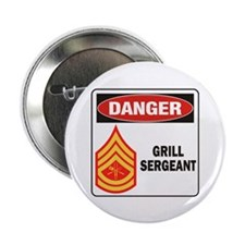 "Grill Sgt. 2.25"" Button (10 pack)"