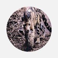 Clouded Leopard series 2 Ornament (Round)