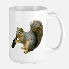 Squirrel Beer Large Mug