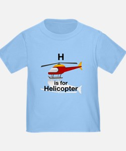 H is for Helicopter T