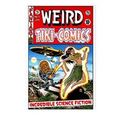 """Weird Tiki Comics # 1"" Postcards (Packa"