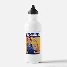 Cute We can do it Water Bottle