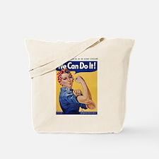 Cool Rosie the riveter Tote Bag