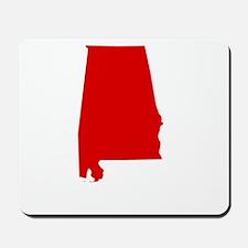 Alabama - Red Mousepad