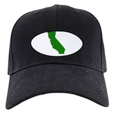 California - Green Baseball Hat