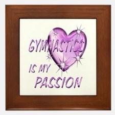 Gymnastics Passion Framed Tile