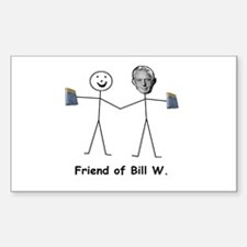 Friend of Bill W. Decal