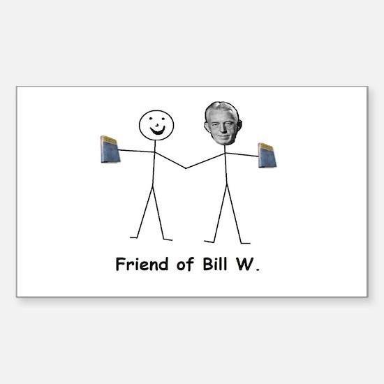 Friend of Bill W. Decal
