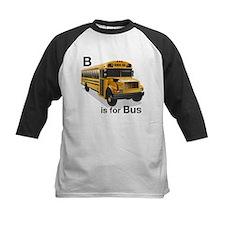 B is for Bus: School Bus Tee