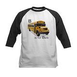 School bus Baseball Jersey