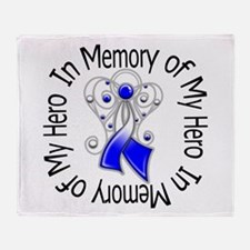ALS In Memory of My Hero Throw Blanket